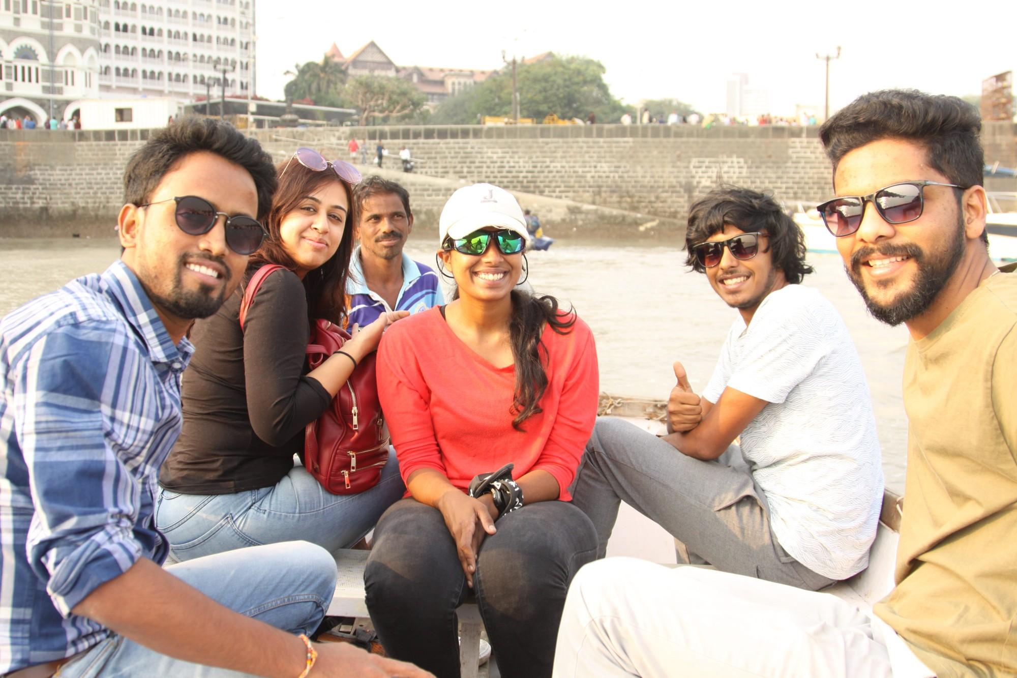 The Sailing team and crew- Sailing in Mumbai