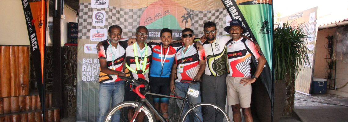 Team GoMissing at the Deccan Cliffhanger 2019